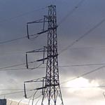 UK: Single circuit tower [Picture by Darren Sage]
