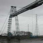 UK: The Newport transporter bridge and pylon [Picture by Dave Cotton]