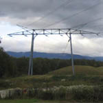 Switzerland: Pylons near CERN, Geneva [Picture by Niels Bassler]