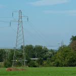UK: Pylons near the substation in Allerford, Somerset [Picture by Flash Wilson]